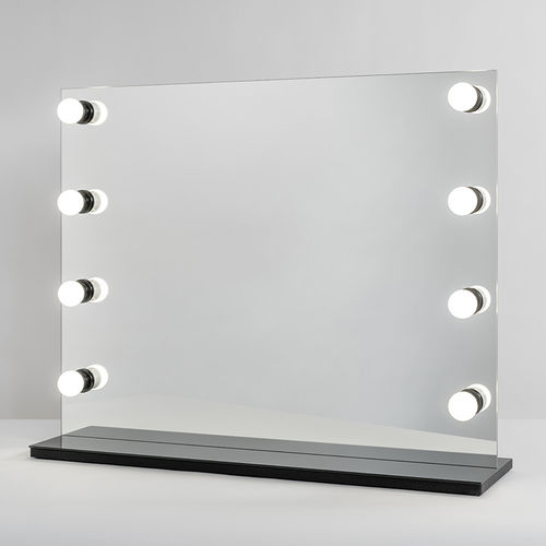 PsLight Makeup Mirror SANNI Musta 800 x 650mm
