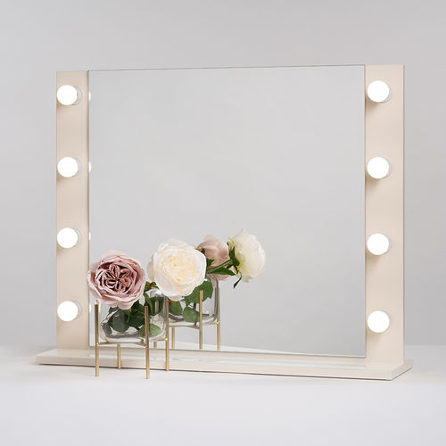 PsLight Makeup Mirror ELLA Antique White 800 x 650mm